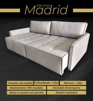Estofado Sofá Cama Madrid